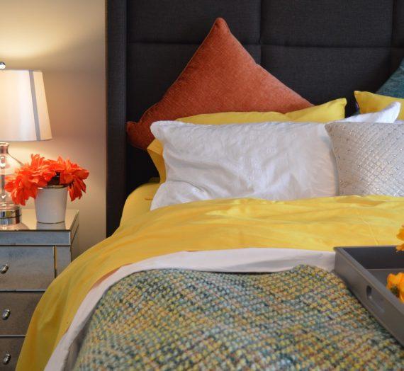 La décoration d'une chambre à coucher