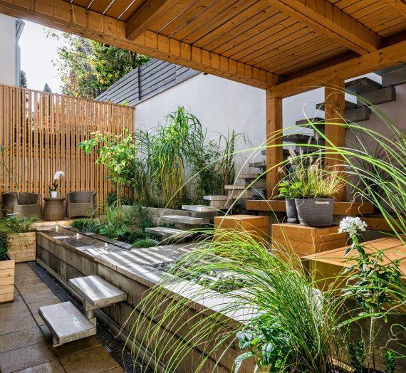 Différents modèles et types de terrasse